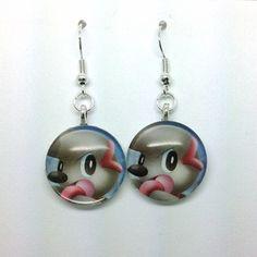 Pokemon Timburr Earrings