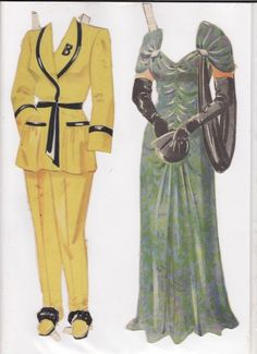 Danish Woman paper doll 9.....SET-60