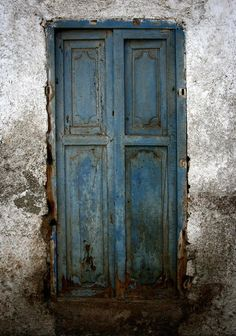 Old Blue Door Photograph. By Shane Rees