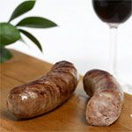 Duck, Chicken and Pork Sausage with Duck Confit--link is to retail site, but a good idea
