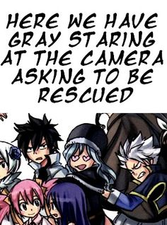 same picture, different angles, different commentary | fairy tail