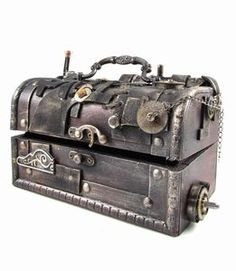 Steampunk chest