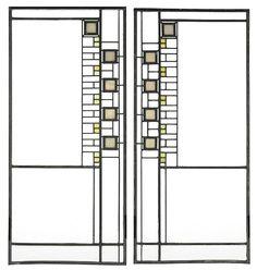 Frank Lloyd Wright - Windows [via @Shelly Figueroa Priebe & Correct]