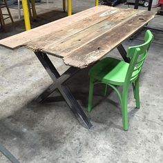 Just finished this #diningtable. #rustic #industrial #reclaimed #reclaimedwood #upcycled #reclaimedfurniture #interior #interiordesign #interiordecor #homedecor #homedesign #homefurniture #homefurnishings #rusticdesign #rusticdecor #rusticinterior #loft #loftliving #farmhouse #farmhousestyle #farmhousedecor #instadesign #instadecor #recharmed #industrialfurniture #industrialdesign #industrialdecor #interiors