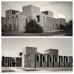 Louis Kahn First Unitarian Church Rochester, NY 1962