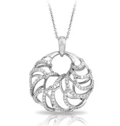 ♥ #BelleEtoile exclusively at #Capri #Jewelers #Arizona ~ http://www.caprijewelersaz.com/Belle-Etoile/35600001/EN ♥ Monaco White Pendant by Belle Etoile. 925 Sterling Silver. Fashion Jewelry.