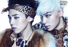 BLUE EYED K-POP IDOLS: #308  GTOP (Kwon Jiyong ( G-Dragon)+Choi Seunghyun (TOP) - BIGBANG