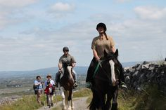 Horse riding in the Burren Travel Info, Time Travel, Us Travel, Trail Riding, Horse Riding, Riding Holiday, Riding Lessons, Stables, Trekking