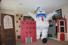Ghostbusters party- Attack of the Stay Puft Marshmallow Man!!!