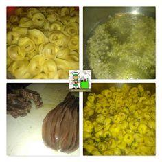 RECETAS DEL SUR: Tortellinis con salsa de anchoas