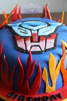 transformers birthday cake - Google Search