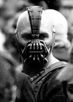 Haute Couture Writer Girl - Tom Hardy as Bane