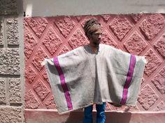 Authentic Vintage Alpaca Peruvian Poncho: Handwoven in the Andes Alpaca Poncho, Alpaca Wool, Different Plants, Peru, Hand Weaving, Etsy, Vintage, Color, Ponchos