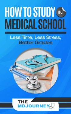 Tired of studying to much in medical school? Not sure how to study in med school? Learn our favorite study strategies and tips to help you do better in medical school with less stress!