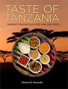 Taste of Tanzania cookbook