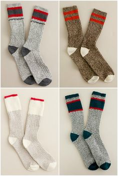 J. Crew Camp socks for men. LITERALLY MY FAVORITE THING IN THE ENTIRE WORLD.