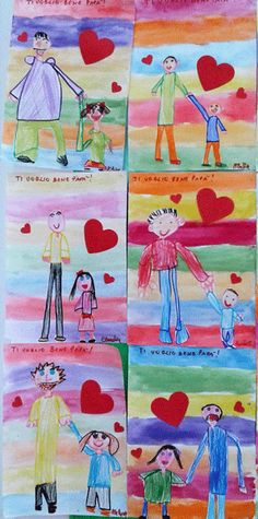 Feste ed Emozioni - Laboratori nelle scuole Diy Mother's Day Crafts, Mothers Day Crafts, I Love You Mom, Holidays And Events, Fathers Day, Activities For Kids, Kindergarten, Preschool, Projects To Try