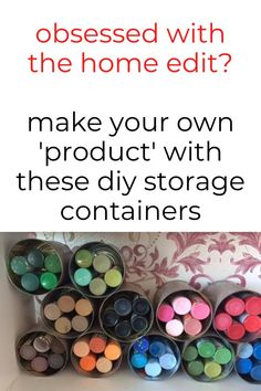 Check out these ideas for how to make your own storage containers from cardboard, dollar tree items and plastic containers. The organizers will help you organize your bathroom, kitchen, fridge and pantry. #hometalk Diy Storage Containers, Diy Storage Boxes, Storage Hacks, Plastic Containers, Storage Ideas, Do It Yourself Projects, Diy Home Decor Projects, Diy Organization, Diy Tutorial