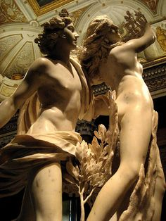 Apollo Daphne by Gian Lorenzo Bernini (1622-1625). Galleria Borghese, Rome ( another view of one of my favorites)