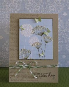Lovely card by lorie