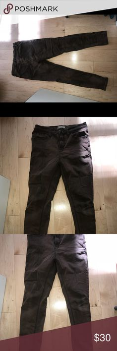 Free People Womens High waist skinny jeans sz 27 Free people ultra skinny high waist jeans   Color : maroon   Size 27 Free People Jeans Skinny
