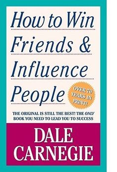 How to Win Friends & Influence People. This book is a must read if you have a career where you manage people, but also is great for applying outside of work as well! One of my favorite books! So inspirational! | http://achievegoalsinlife.com/store/