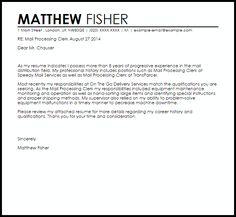 letter samples office clerk cover example lettercv best free home design idea inspiration - Office Clerk Cover Letter