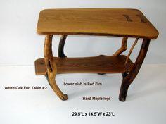 White Oak End Table #2 (set of 3)