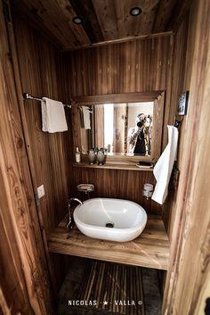 En-suite bathroom -★- Wood / Interior design & Photography by Nicolas Valla Interior Design Photography, Wood Interior Design, Wood Design, Wood Bathroom, Bathroom Ideas, Cabinet Design, Scandinavian Style, Home Decor Inspiration, Cabin Ideas