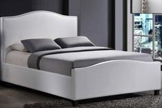 Faux Leather Windsor Bed