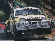 Carlos Sainz Wheel In The Sky, Alpine Renault, Turbo Car, Rally Car, Auto Racing, Courses, Cars And Motorcycles, Motorbikes, Race Cars