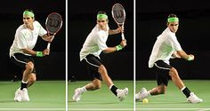 Understanding The Roger Federer Backhand Grip