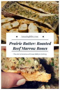 Beef Marrow Bones, Beef Bones, Bison Recipes, Beef Recipes, Marrow Recipe, Roasted Bone Marrow, Restaurant Specials, Seasoned Bread Crumbs, Steak Butter