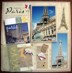 Scrapbooking! I can't wait to make a France scrapbook...probably will have to wait until summer!