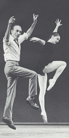 George Balanchine of The New York City Ballet rehearsing with Suzanne Farrell Ballet Photos, Dance Photos, Dance Pictures, Ballet Images, Ballet Pictures, George Balanchine, Shall We Dance, Just Dance, Street Dance