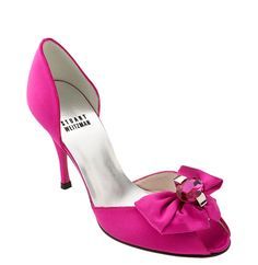 Hot pink shoes for wedding - My wedding ideas Fuschia Shoes, Hot Pink Shoes, Magenta, Fuschia Wedding, Hot Pink Weddings, Unique Wedding Shoes, Pink Wedding Shoes, Badgley Mischka Bridal, Bride Shoes