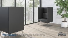 Our workplace distancing solutions provide environments that keep people healthy, safe and productive.  Create healthier workspaces with our soft seating, panel system, acrylic privacy screens, freestanding acrylic screens, fixed acrylic screens, surface lateral acrylic screens, end surface acrylic screens, laminate lateral gallery panels with acrylic screens and more!   #groupelacasse #workplacedistancing #physicaldistancing #staysafe #smartspaces #privacy Panel Systems, Privacy Screens, Soft Seating, Workspaces, Armchairs, Office Furniture, Surface, Create, Gallery