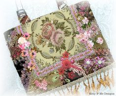 Crazy Quilting and Embroidery Blog by Pamela Kellogg of Kitty and Me Designs: Crazy Quilt Finishes