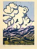 """Taos Mountain"" : Jan Vanderburg Printmaker : www.janvanderburgprintmaker.com"