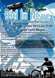 Bici in Neve 2013 Evento per Tra Sport e Natura