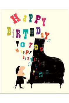 Quotes about Birthday : QUOTATION - Image : As the quote says - Description Happy Birthday Happy Birthday Piano, Happy Birthday Pictures, Happy Birthday Quotes, Happy Birthday Greetings, Birthday Love, Birthday Messages, Birthday Greeting Cards, Illustration Inspiration, Birthday Blessings