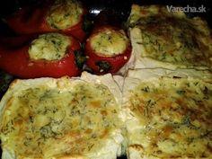 Zapečený plnený balkánsky syr a kapia (fotorecept) - Recept