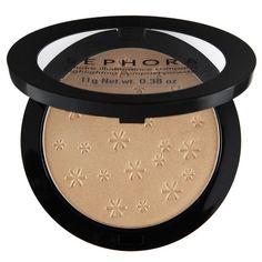 Polvo que realza tu piel. Sephora Brand Highlighting Compact Powder te permite resaltar lo más bello de tu rostro. Aplícalo sobre los puntos más relevantes de la...