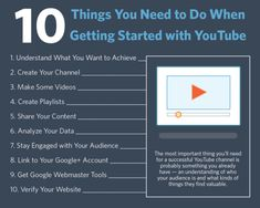 For some small businesses and organizations, building a library of video content on YouTube sounds like a daunting task. But you shouldn't let your initial