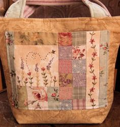 Pattern - Patchwork Bag and Scissor Angel - Stitching Cow