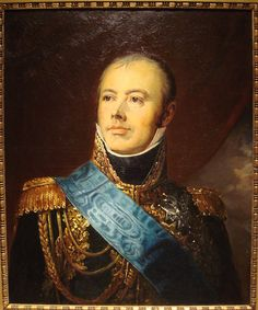 Jacques MacDonald (1765-1840); Marshal of France under Napoleon. He commanded corps and detachments of the Grande Armee.