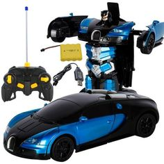 Transformer Remote Control Car New - blue Lamborghini Mama Baby, Model Auto, Hit The Button, Ready To Rumble, Fighting Robots, Rc Robot, Remote Control Cars, Rc Cars, Cars