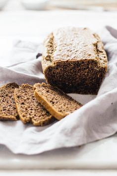 Grain Free Gluten Free Walnut Bread | Nutrition Stripped