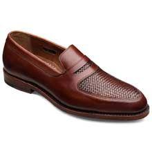 Carlsbad in Chili - Penny Loafer Slip-on Mens Dress Shoes by Allen Edmonds, $345 #allenedmonds