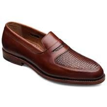 Carlsbad in Chili - Penny Loafer Slip-on Mens Dress Shoes by Allen Edmonds, $345 #allenedmonds
